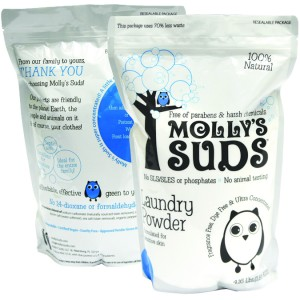mollys suds all natural laundry powder