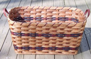 amish laundry basket